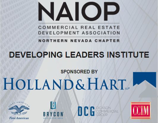 NAIOP Northern Nevada Developing Leaders Institute Sponsors